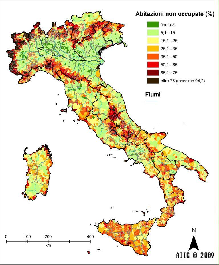 Cartina Italia Economica.Carte Tematiche Italia Aiig