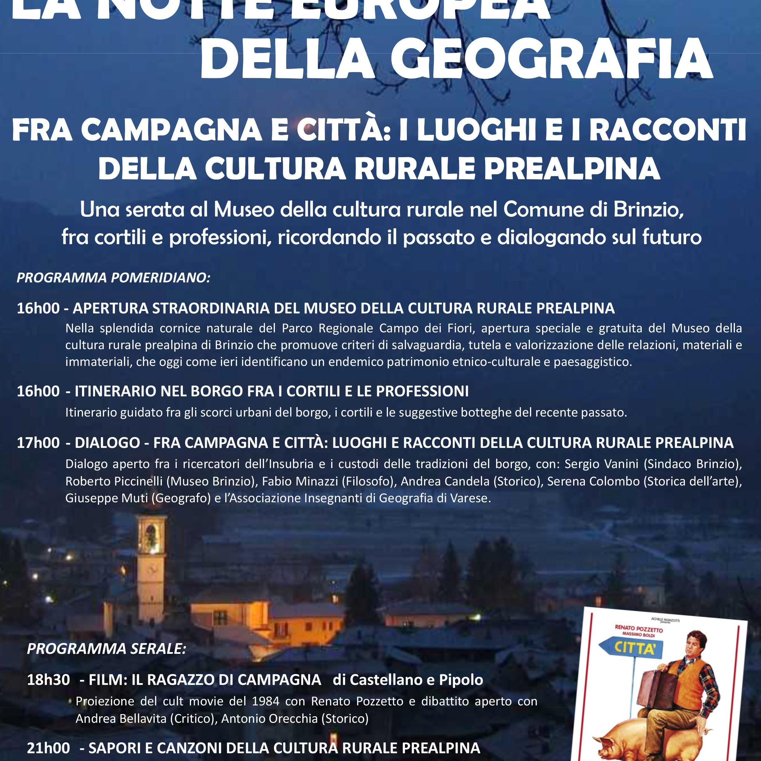 Microsoft PowerPoint - Locandina NotteGeo white